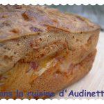 Cake Jambon, Raclette, Moutarde et Bière