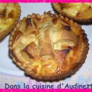 Tartelette aux pommes (pas régime !)