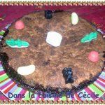 Gâteau danois à la confiture et noix de coco