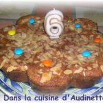 Gâteau aux pommes d'une mamie bretonne
