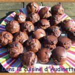 Muffins tout chocolat à la crème de coco