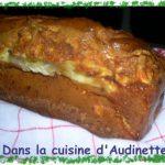 Cake courgettes et chèvre