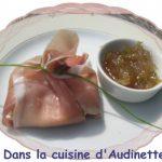 Aumônière de foie gras au speck italien