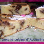 Gâteau aux yaourts et miettes de lapin de Pâques