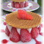 Mousse de Framboises dans son dolmen de fraises