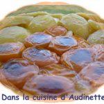 Tarte tatin pommes et abricots