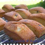 Mini-cakes moelleux aux poires et pépites chocolat
