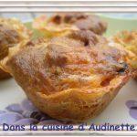 Muffins Camembert et Chorizo