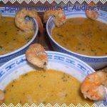 Wok ! – Soupe de crevettes au lait de coco