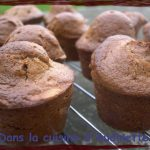 Muffins à la pralinoise et aux amandes