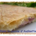 Friand jambon fromage