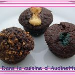 Mini mini muffins (aux smarties, choco blanc ou pralin)