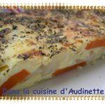 Clafoutis de carottes et topinambours