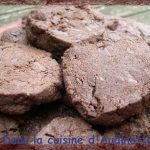 Sablés au chocolat et fleur de sel