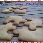 Puzzle citrus cookies