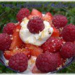 Coupe fraises framboises