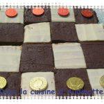 Damier chocolat/vanille coco