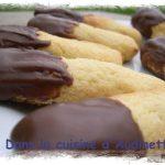 Gâteaux boudins à la noix de coco