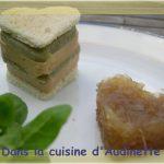 Faux pressé de foie gras aux artichauts