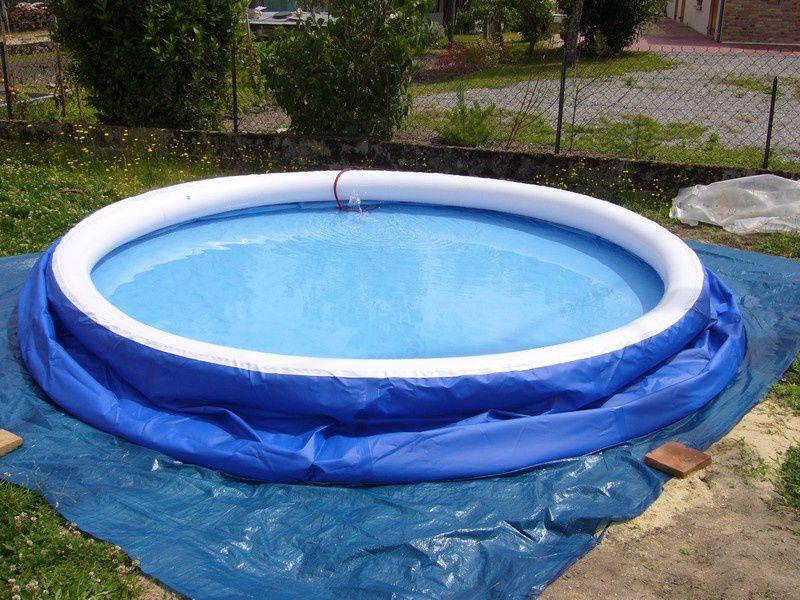 remplissage piscine autoportante 1h
