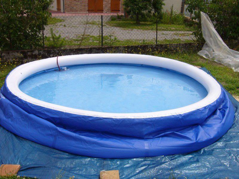 remplissage piscine autoportante 2h