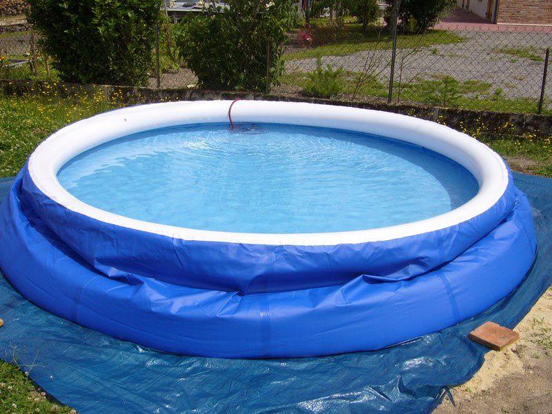remplissage piscine autoportante 4h