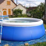 L'installation d'une piscine auto-portante, tout un programme !
