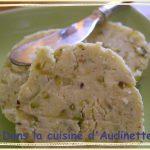 Beurre pistache parmesan