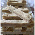 Mini-sandwiches au foie gras et artichaut