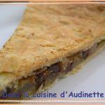 Galette des rois poire, chocolat et pistaches