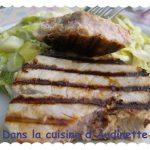 Steak de thon aux épices aphrodisiaques (souvenir de l'Ile Maurice)