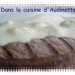 Tournedos sauce roquefort (fourme d'ambert)
