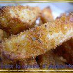Wedges (frites au four avec des épices et de la chapelure)