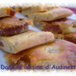 Cake au chorizo, olives et ricotta