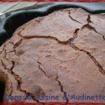 the Fondant au chocolat (qu'on élimine au Bosu !)
