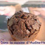 Muffins au chocolat et rien qu'au chocolat