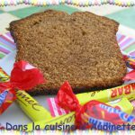Cake aux carambars et aux daims