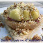 Foie gras en crumble de pain d'épices