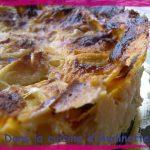Gâteau aux pommes ou Gedeckter Apfelkuchen