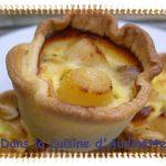 Tartelettes aux noix de pétoncle
