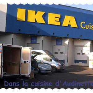 Cuisine IKEA : étape n°2 – le retrait des marchandises