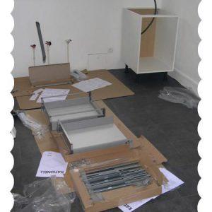 Cuisine IKEA : étape n°3 – montage et installation
