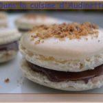 Macarons nutella noisette