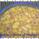 Punch ananas et bananes