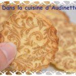 Biscuits imprimés à la fleur d'oranger (scrapcooking)