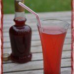 Sirop de fraise maison à la vanille