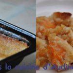 Gratin d'abricots au mascarpone et poudre d'amande