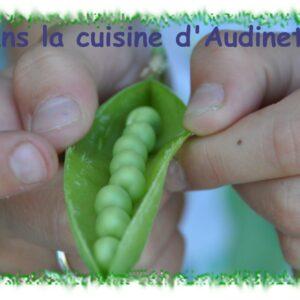 Terrine petits pois, brocolis et jambon