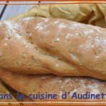 Pain tordu aux graines