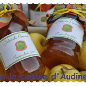 Gelée de pommes et gelée pommes groseilles (merci la centrifugeuse !)